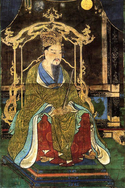 桓武天皇のひげ