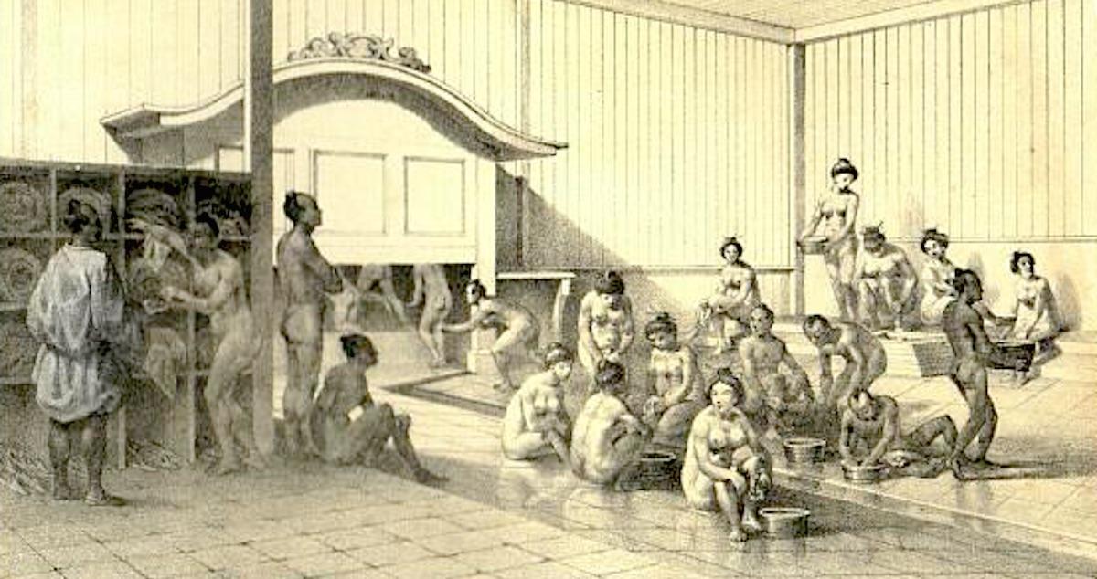 【男女混浴】江戸時代のお風呂事情を画像つきでまとめてみた【頻度は?】
