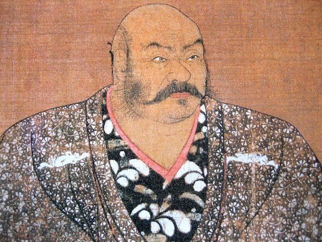 武田信玄のひげ(肖像画より)