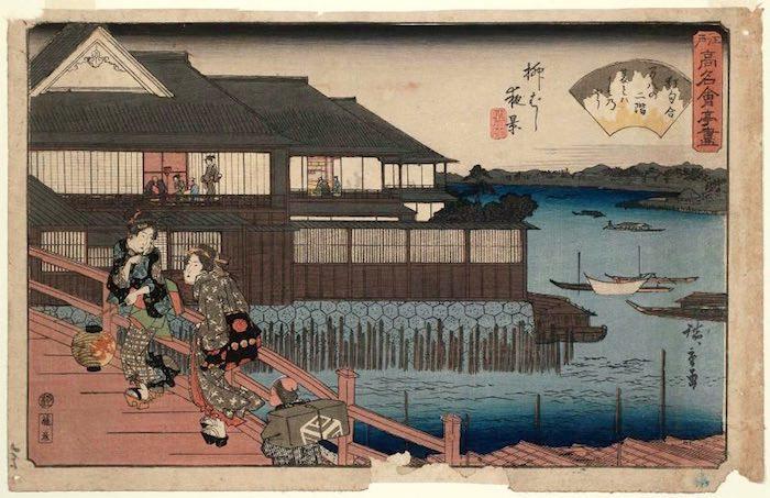 江戸時代の大食い大会の会場 料亭「万八楼」
