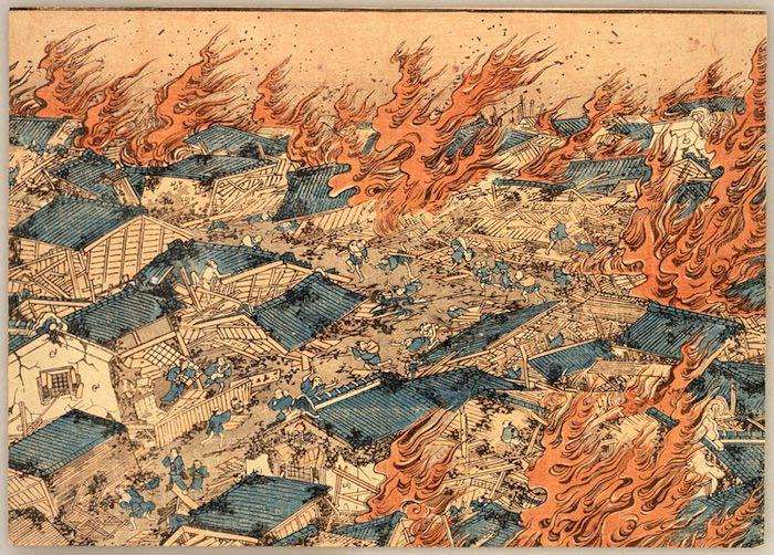 文化の大火(江戸時代の大火事)
