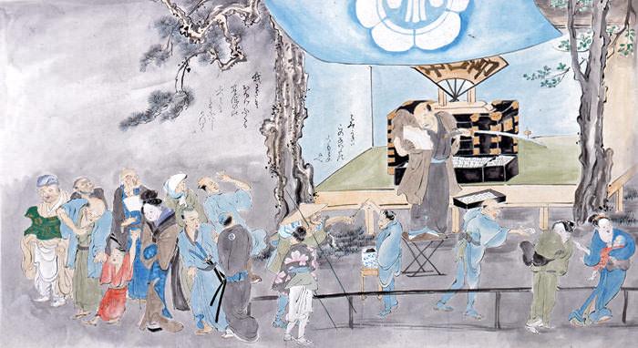 江戸時代、抜歯することもあった大道芸人