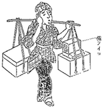 江戸時代の鋳掛屋(守貞謾稿より)