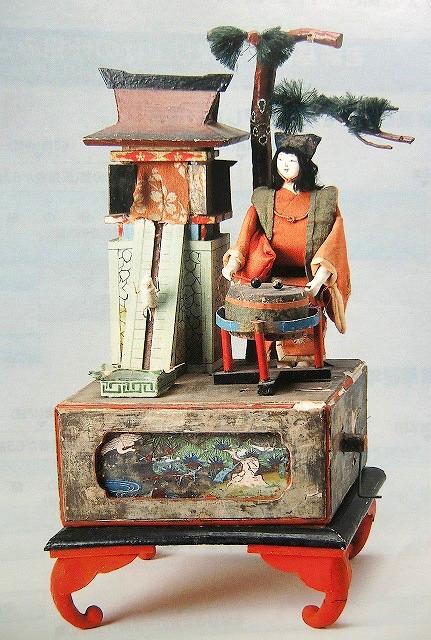 「ねずみの宝運び」大野弁吉が得意としたからくり人形のひとつ
