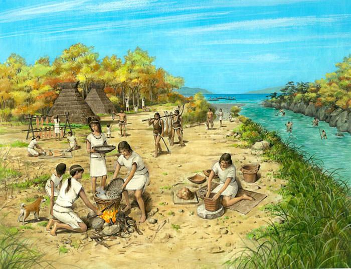 縄文時代の様子