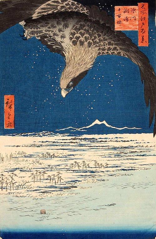 深川洲崎十万坪(歌川広重 画)