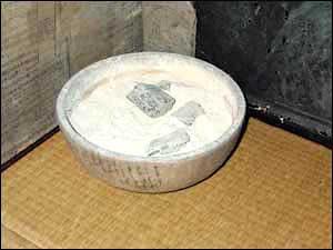 江戸時代、長屋でよく使われた手あぶり火鉢(拡大画像)