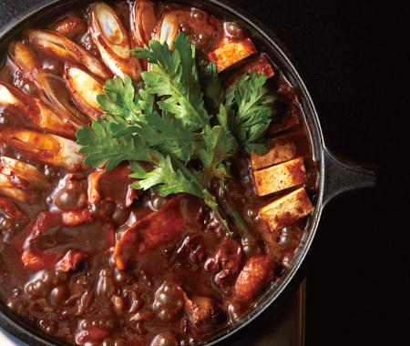 老舗「かど屋」の軍鶏鍋