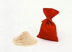 江戸時代の糠袋を再現したもの