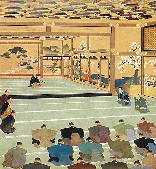 『大政奉還図』(邨田丹陵 画)