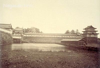 江戸城の一部(明治2年撮影)