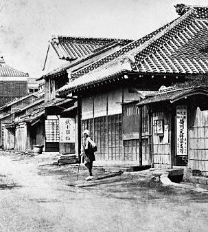 永坂更科 布屋太兵衛(東京都港区麻布永坂)の明治頃の写真