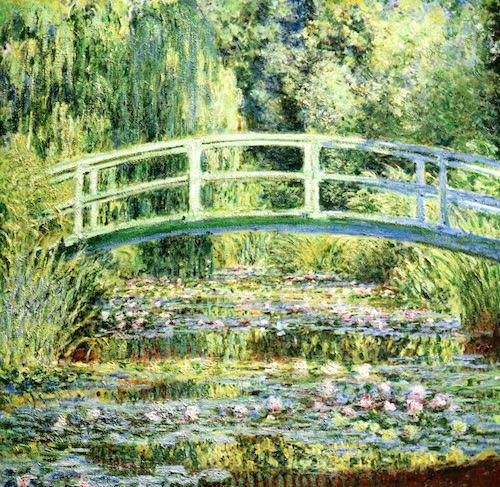 「睡蓮の池 緑のハーモニー」(クロード・モネ 画)