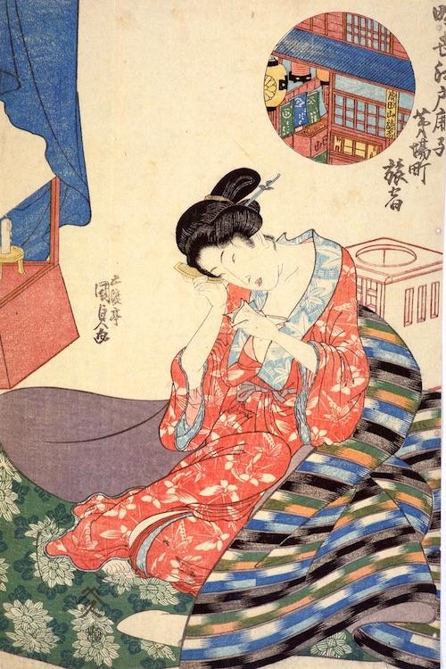 江戸城(『江戸図屏風』部分)