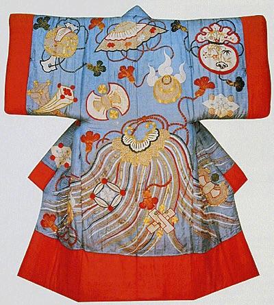 夜着(江戸時代の木綿わた入り大型着物)