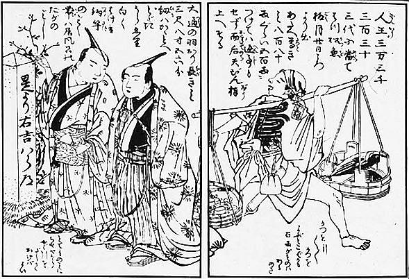 『無益委記』(恋川春町 作・画)、その1
