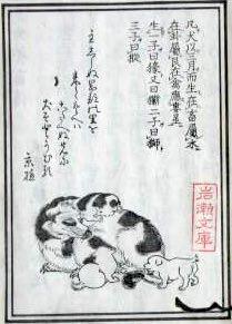 『犬狗養畜伝』(暁鐘成 作)