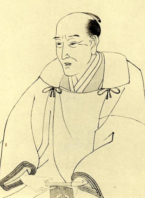 『田舎源氏』の作者・柳亭種彦の肖像画