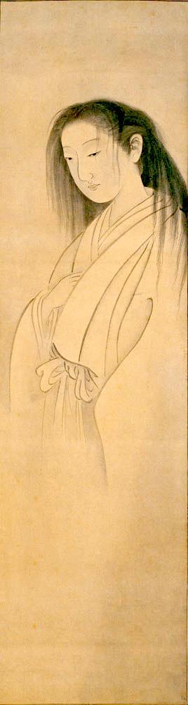 『返魂香之図』(円山応挙 画)
