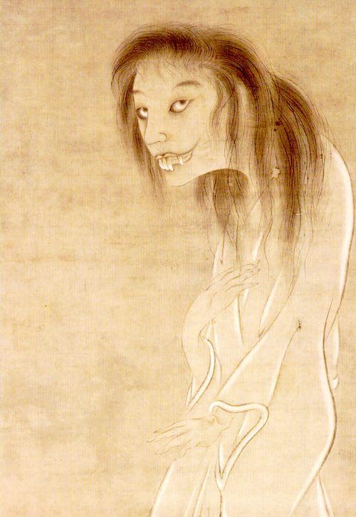 『幽霊図』(円山応挙 画)