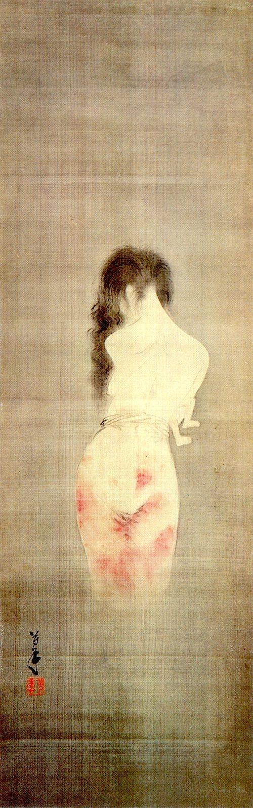 厳選25枚 江戸時代の幽霊画がめちゃくちゃ怖い 夜見ちゃダメ 江戸