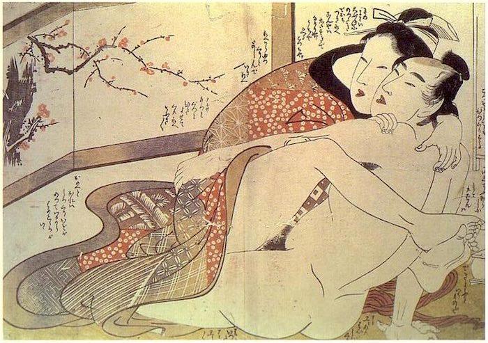 喜多川歌麿による春画