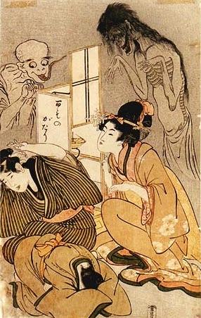 『百物語』(喜多川歌麿 画)