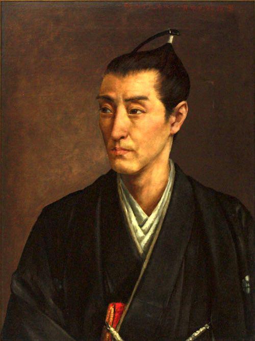 平賀源内の肖像画(明治時代)