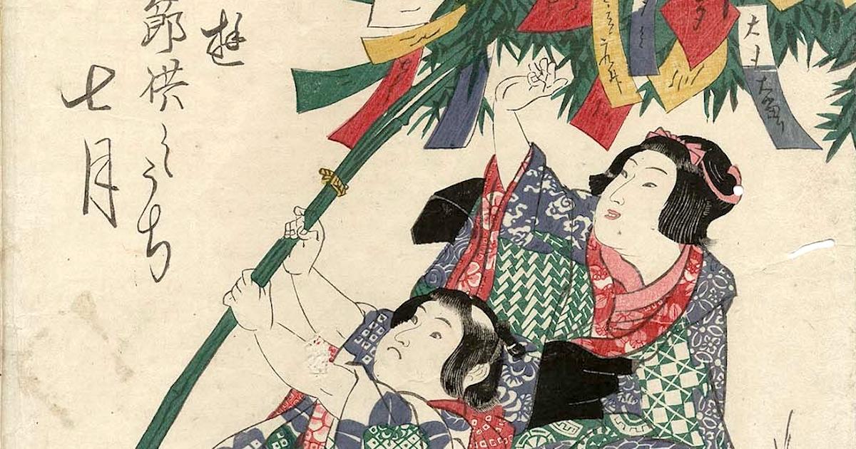 七夕はそもそも秋のイベント!? 江戸時代の七夕について由来や食べ物、飾りをまとめてみた