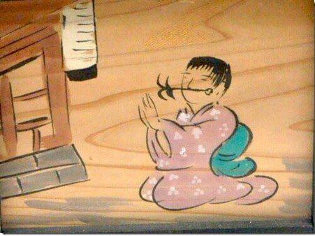 虫歯に苦しむ人が奉納した絵馬(江戸時代)