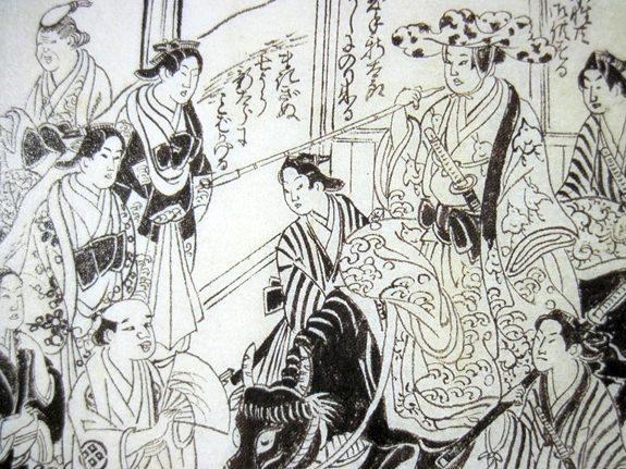 徳川宗春(画像右)