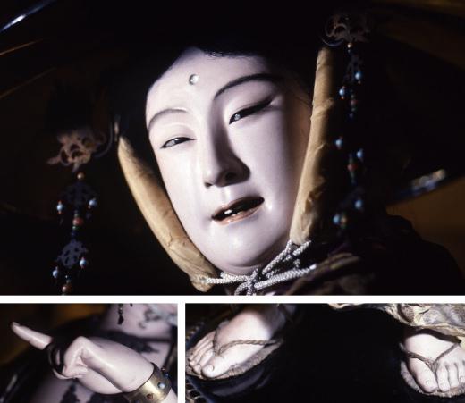 松本喜三郎の代表作「谷汲観音」