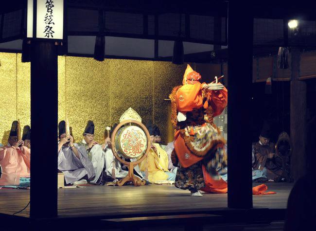 「名月管弦祭」は十五夜の夜に行われる(京都 下賀茂神社)