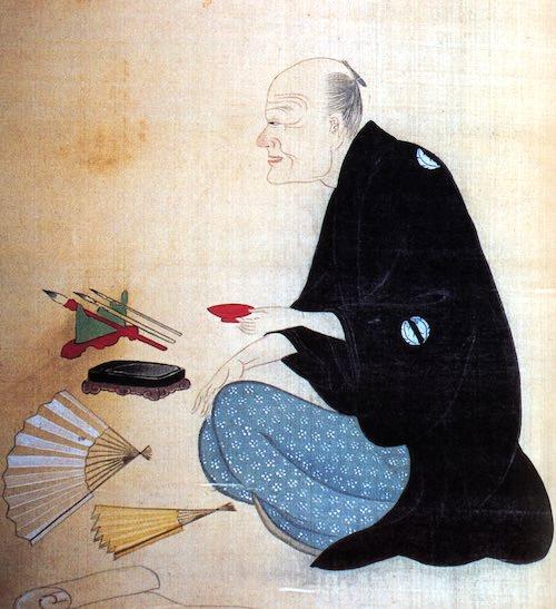 大田南畝の肖像画