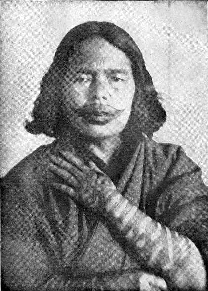 アイヌ民族の刺青文化