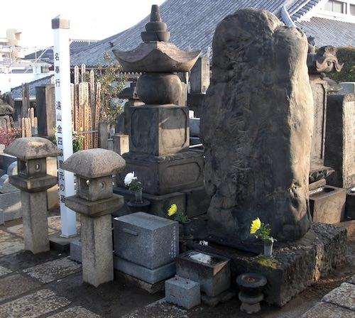 遠山景元の墓(巣鴨の本妙寺)