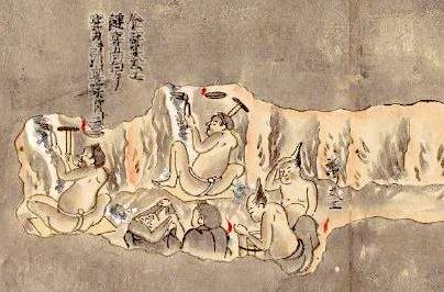 『金銀山敷岡稼方図』より