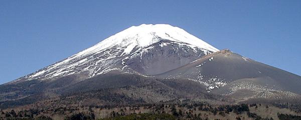 富士山大噴火で誕生した宝永火山