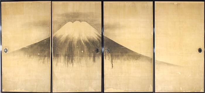 『富嶽図』古礀(こかん) 画