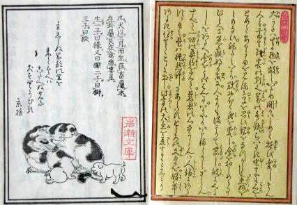 江戸時代の犬の飼育書『犬狗養蓄伝』