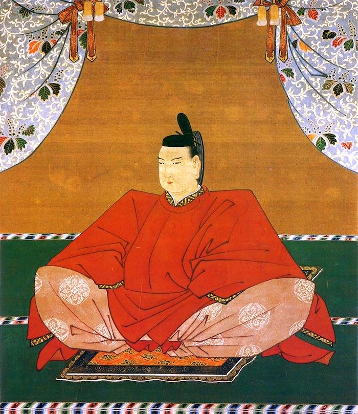 一条天皇の肖像画(拡大画像)