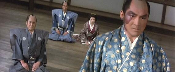 松方弘樹が演じる徳川家光(映画『柳生一族の陰謀』より)