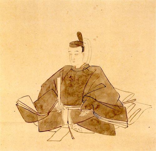 「幻の十一代将軍」ともいわれる徳川家基の肖像画