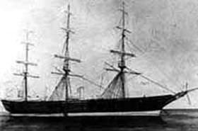 幕末の軍艦・開陽丸の写真