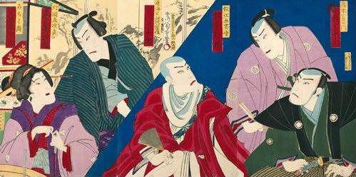 河竹黙阿弥は『天衣紛上野初花』にて、陰富をネタに強請られた水戸藩恐喝事件を盛り込んだ