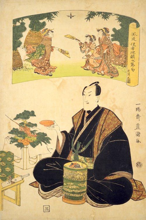 江戸時代後期のお正月風景