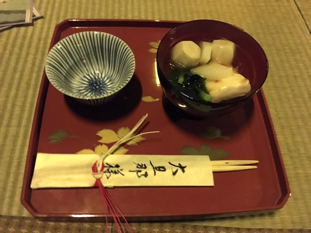 江戸庶民の雑煮(深川江戸資料館 再現)の拡大画像