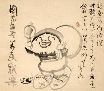 大黒(『大黒天図』 仙厓義梵 画)