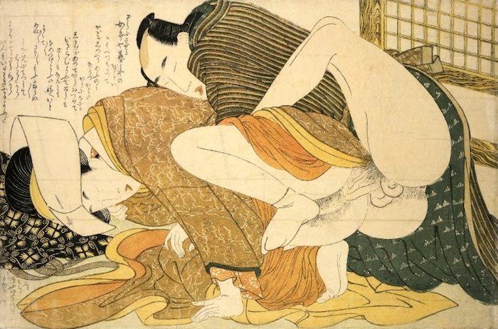 『絵本小町引き』より(喜多川歌磨 画)