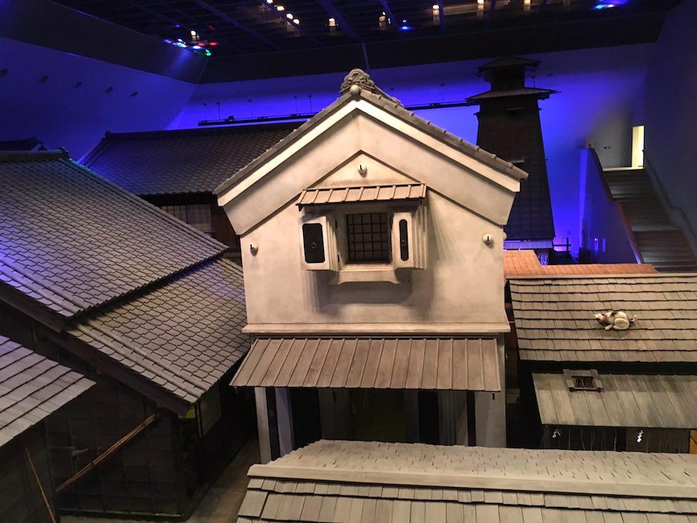 深川江戸資料館のなかに入るとそこは江戸時代(拡大画像)